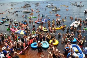 Annual 4th of July Charlotte Harbor Freedom Swim